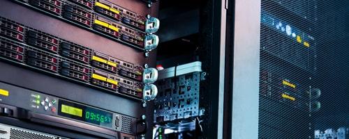 Server Room close up
